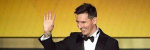 Messi lần đầu giành giải Cầu thủ xuất sắc nhất tháng ở La Liga