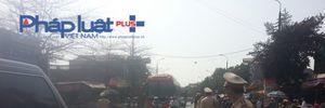 Chợ Viềng: 100% lực lượng CSGT Nam Định 'ra đường'