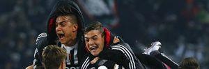 Thắng sát nút Napoli, Juventus vươn lên ngôi đầu Serie A