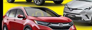 Honda CR-V thế hệ mới chính thức lộ diện
