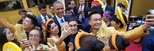 Những khoảnh khắc ấn tượng của ông Obama tại Hà Nội