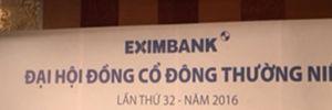 Đại hội đồng cổ đông Eximbank: 'Vỡ trận' ngay từ phút đầu tiên