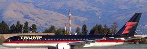 Ngắm siêu máy bay mạ vàng của tỷ phú Donald Trump