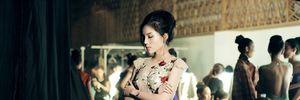 Ảnh hậu trường của sao Việt trong show của NTK Hoàng Hải