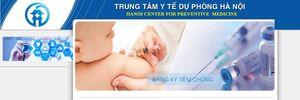 Hà Nội tổ chức đăng kí tiêm vắc xin 6 trong 1