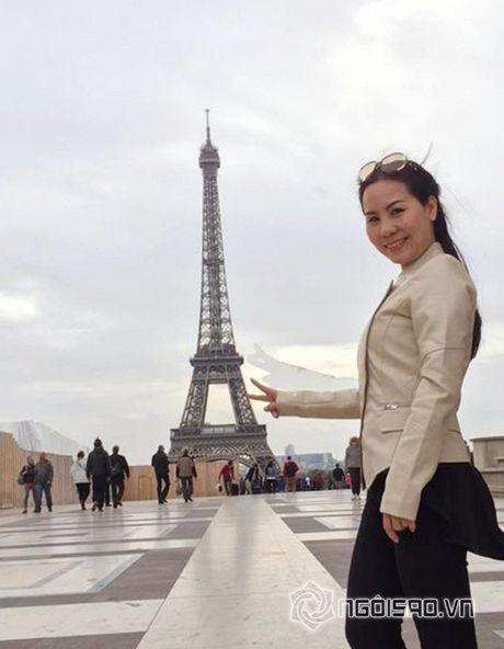 Nu hoang doanh nhan Kim Chi dep rang ro giua chau Au hoa le - Anh 1