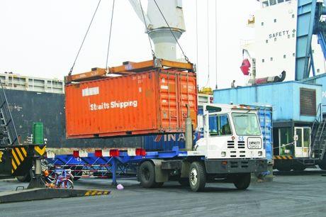 Hàng trăm doanh nghiệp vận tải giao dịch thành công trên sàn