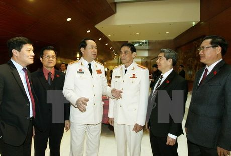 Thuc hien Nghi quyet Trung uong 4 khoa XI ve xay dung Dang - Anh 1