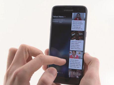 Những tiện ích mới trên màn hình cong của Samsung Galaxy S7 Edge