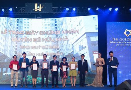 Cong ty Hung Loc Phat ky niem 15 nam thanh lap va cong bo du an The Golden Star - Anh 1