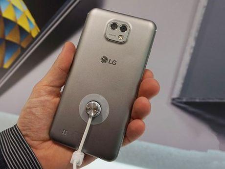 Ngam dien thoai LG X Cam vo kim loai, 2 camera sau - Anh 7