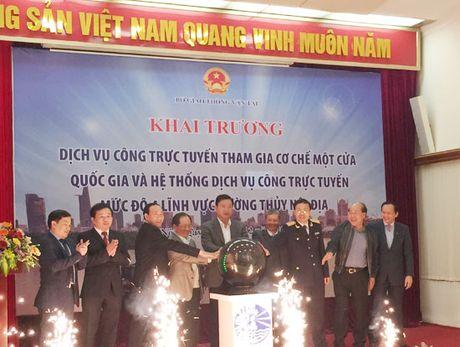 Bo Giao thong muon dan dau ve xay dung Chinh phu dien tu - Anh 1