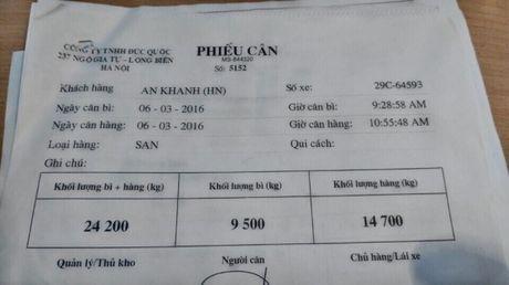 Vu khach hang to Truong Hai ban xe gian lan trong tai : Cuc Dang Kiem vao cuoc - Anh 2