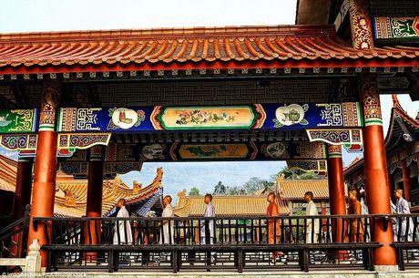 Canh luyen vo gian truan trong chua Thieu Lam o TQ - Anh 10