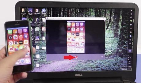 Huong dan chieu man hinh iPhone len may tinh - Anh 7