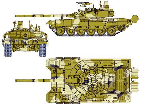 "Tang T-90 Viet Nam tinh mua - ""hung than"" uy manh tren chien truong - Anh 5"