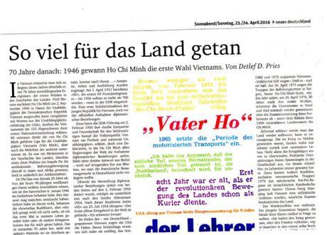 Báo Đức ca ngợi thành tựu phát triển của Việt Nam