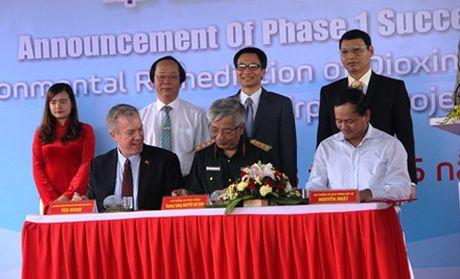 Viet Nam tiep nhan 45.000 met khoi dat da xu ly dioxin tai san bay Da Nang - Anh 2