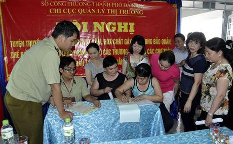 Tieu thuong cho Han cam ket khong su dung chat cam, hoa chat gay hai - Anh 1