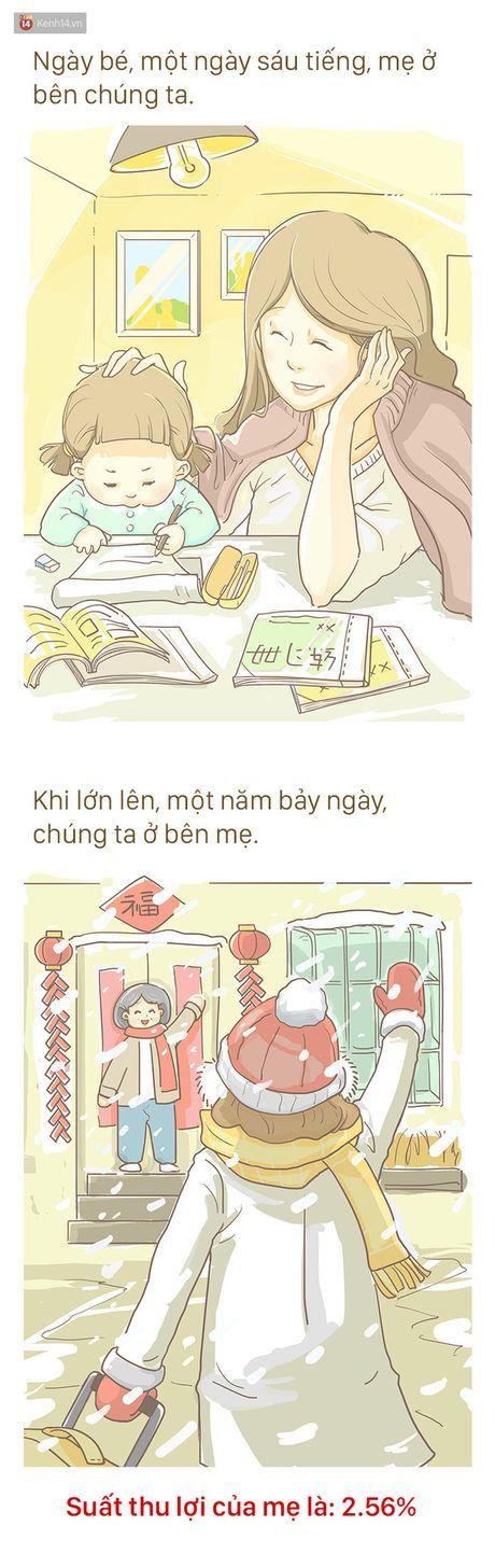 Bo tranh cam dong ve Me: 'Tren doi nay, me la nguoi khong biet dau tu nhat' - Anh 3