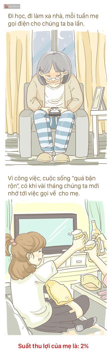 Bo tranh cam dong ve Me: 'Tren doi nay, me la nguoi khong biet dau tu nhat' - Anh 4