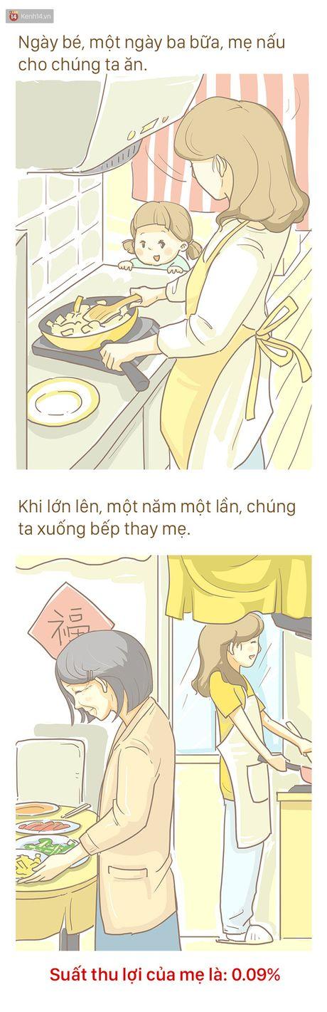 Bo tranh cam dong ve Me: 'Tren doi nay, me la nguoi khong biet dau tu nhat' - Anh 6