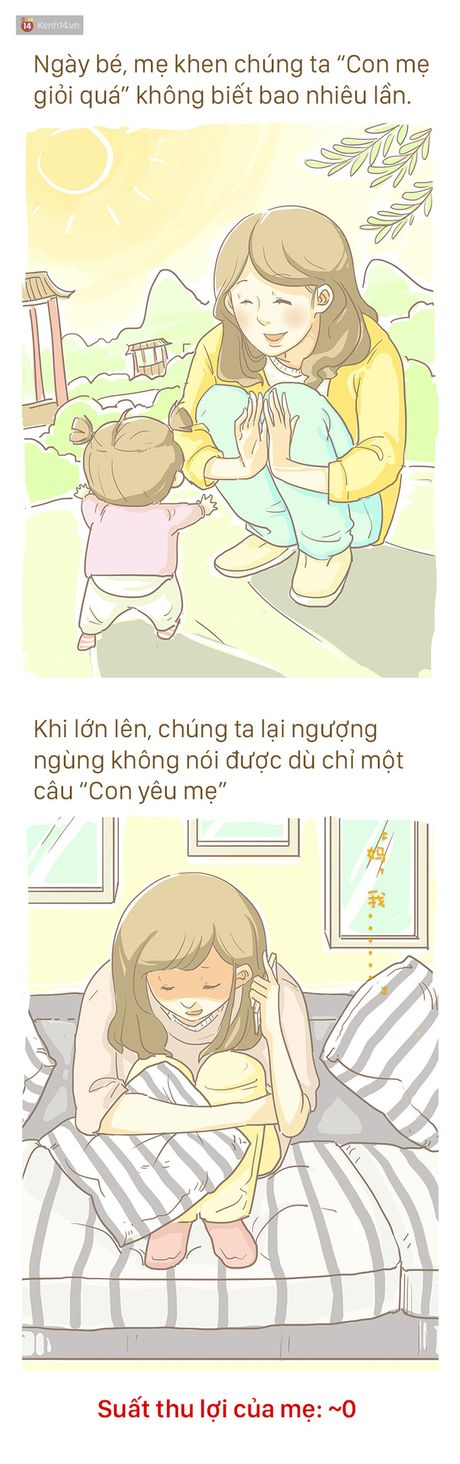 Bo tranh cam dong ve Me: 'Tren doi nay, me la nguoi khong biet dau tu nhat' - Anh 8