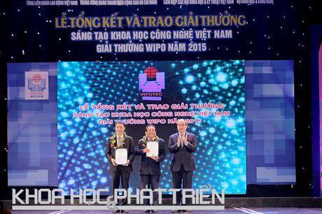 Chum anh le trao giai thuong Sang tao Khoa hoc Cong nghe Viet Nam - Anh 2