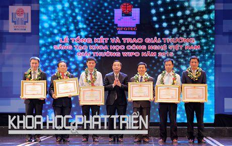 Chum anh le trao giai thuong Sang tao Khoa hoc Cong nghe Viet Nam - Anh 3