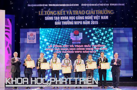 Chum anh le trao giai thuong Sang tao Khoa hoc Cong nghe Viet Nam - Anh 4