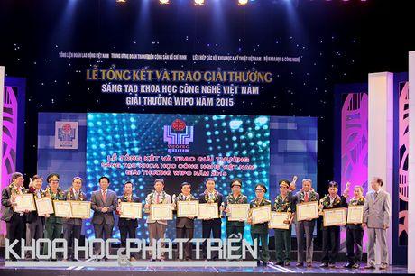 Chum anh le trao giai thuong Sang tao Khoa hoc Cong nghe Viet Nam - Anh 6