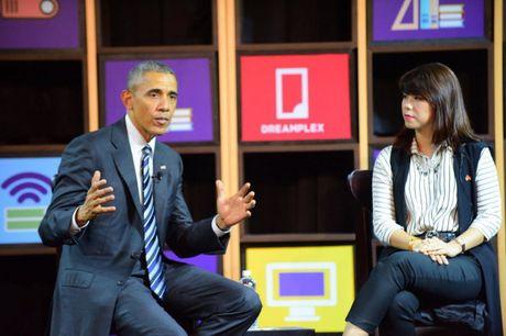 Tong thong Obama gap go doanh nghiep Viet Nam - Anh 4