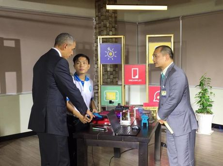 Tong thong Obama gap go doanh nghiep Viet Nam - Anh 6
