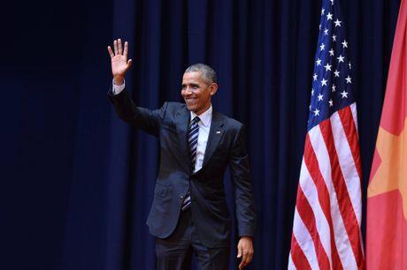 Tuong thuat Obama phat bieu truoc gioi tre Viet Nam - Anh 3