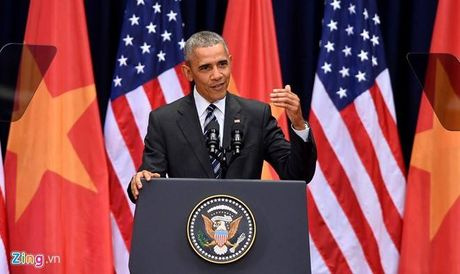 Tuong thuat Obama phat bieu truoc gioi tre Viet Nam - Anh 6