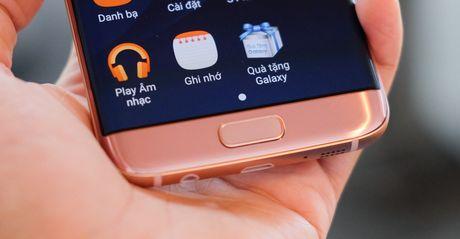 Mo hop Galaxy S7 edge mau hong chinh hang vua ban o VN - Anh 10