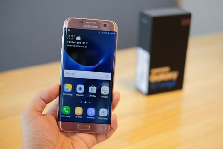 Mo hop Galaxy S7 edge mau hong chinh hang vua ban o VN - Anh 11
