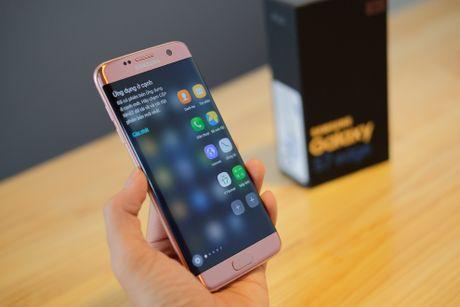 Mo hop Galaxy S7 edge mau hong chinh hang vua ban o VN - Anh 12
