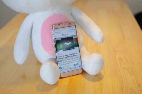 Mo hop Galaxy S7 edge mau hong chinh hang vua ban o VN - Anh 13