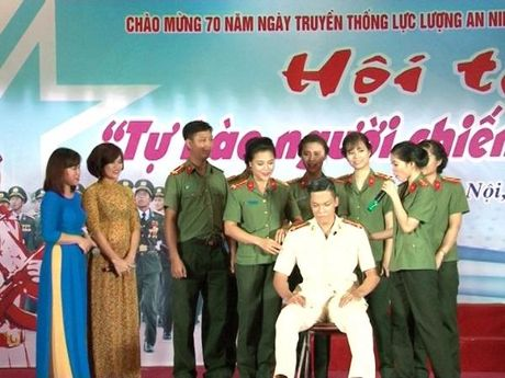 Tuoi tre CATD xuat sac doat giai Nhat cuoc thi 'Tu hao nguoi chien sy ANND'' - Anh 3