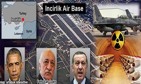 Thổ 'nhốt' 1.500 quân Mỹ tại Incirlik, đòi trao đổi Gulen?