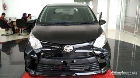 Xe gia dinh Toyota Calya gia re khoang 255 trieu dong ra mat o Indonesia - Anh 1