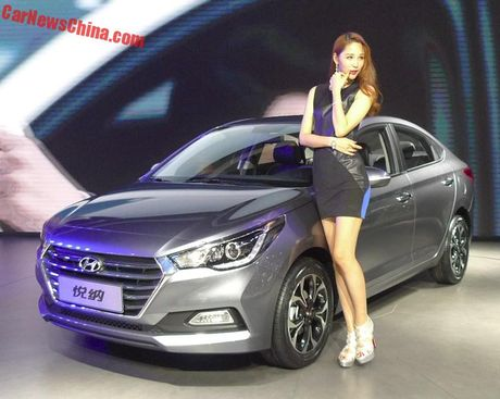 Xe gia 200 trieu Dong Hyundai Verna 2016 chinh thuc ra mat - Anh 2