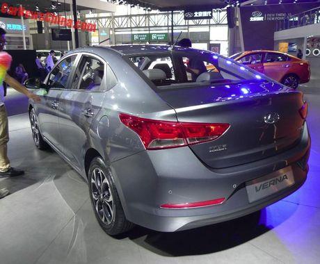 Xe gia 200 trieu Dong Hyundai Verna 2016 chinh thuc ra mat - Anh 5