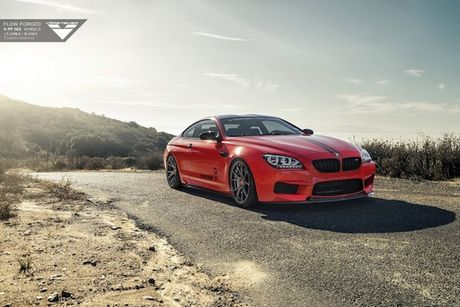 """Coupe thể thao BMW M6 ấn tượng với mâm """"hàng thửa"""""""