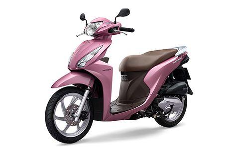 Honda Vision có thêm màu hồng