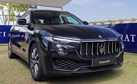 Dòng SUV Maserati Levante chính thức 'chào sân' tại Việt Nam