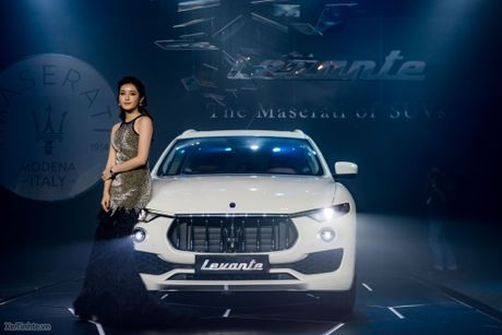 SUV hạng sang Maserati Levante ra mắt thị trường Việt Nam; giá từ 4,99 tỷ đồng