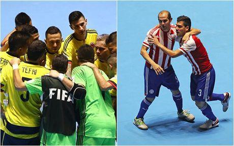 Lich thi dau vong 1/8 FIFA Futsal World Cup 2016 - Anh 2