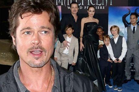 Brad Pitt bi canh sat dieu tra vi doi xu te voi con - Anh 1